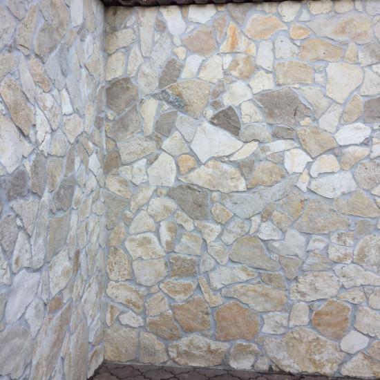 Realizace kamenná dlažba Mediterran bílá, Praha