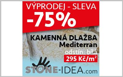 VÝPRODEJ!  Mediterran – bílá SLEVA -75%