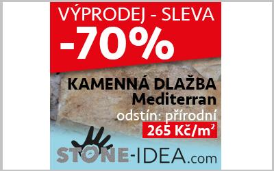 VÝPRODEJ! Mediterran – přírodní SLEVA -70%