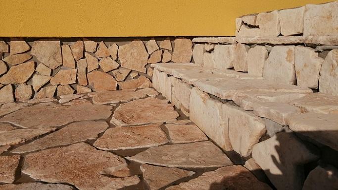 Dlažební a obkladový kámen Mediterran přírodní