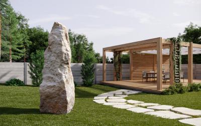 Zahradní menhir - 1
